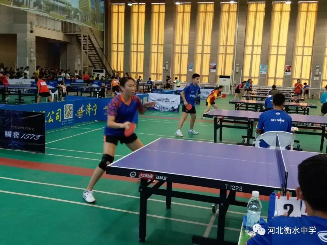 [精彩]衡中学子斩获全国乒乓球赛女子团体冠军