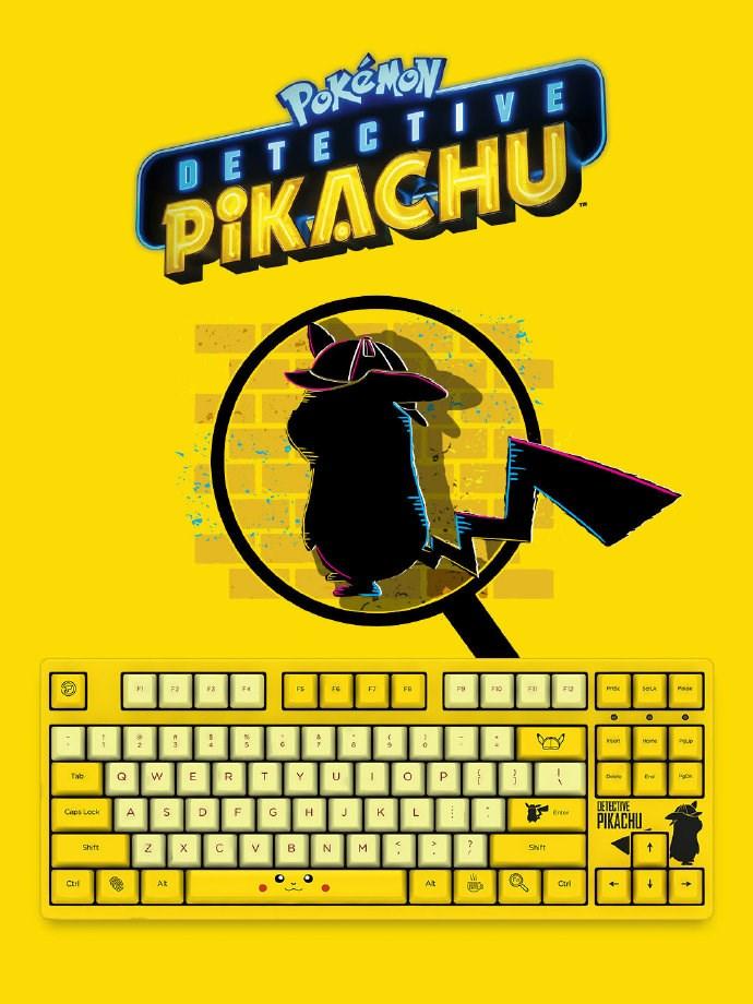 "Akko将推出""大侦察皮卡丘""主题机械键盘"