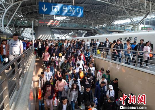 """盘点""""十一""""黄金周:铁路发送旅客、电影票房等又创新高_北京"""