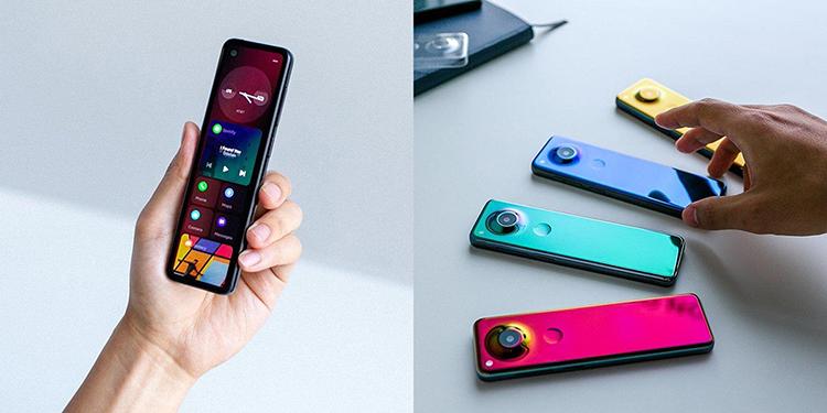 长条外型看似遥控器安卓之父展示新手机设计