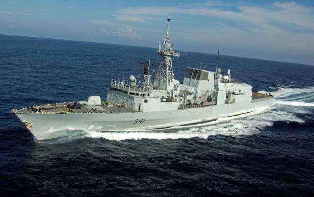 10月8日9时整,加拿大舰在东海再遭羞辱,直接掉头返航:抱怨美日