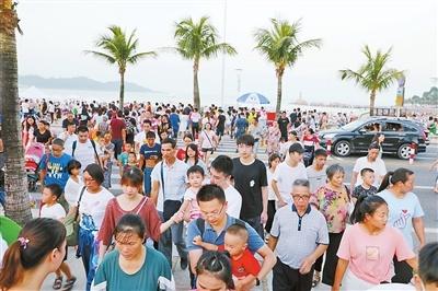 """国庆旅游账单:珠海入围""""国内十大最吸引自由行游客城市"""""""