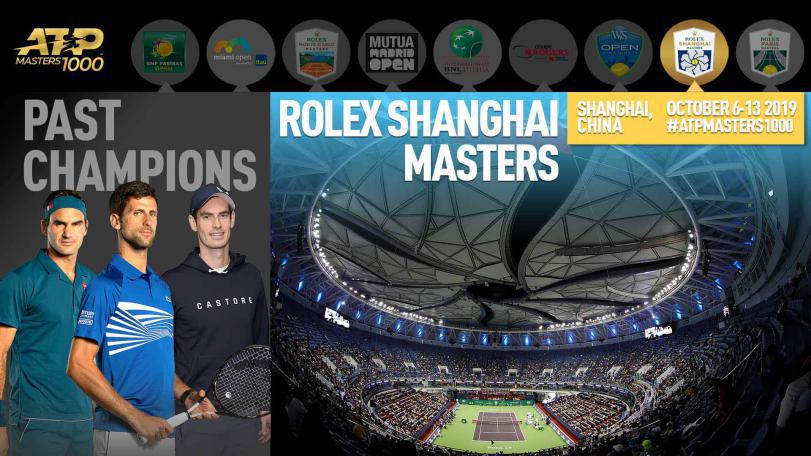 这3个英语名词,助你解读顶级网球赛事:2019上海劳力士大师赛!