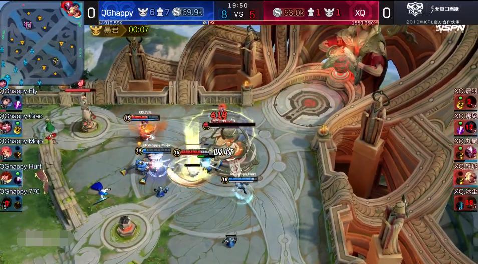 """王者荣耀:QGhappy和XQ一战爆出冷门,玩家纷纷表示""""舒服了"""""""