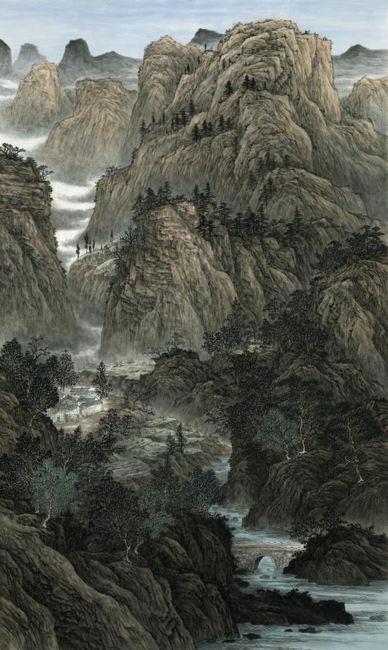 山间有清音――画家卢建绪作品欣赏