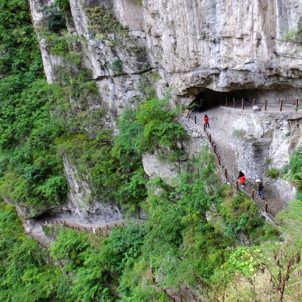 国内唯一不对外国人开放的景点,四川最美大峡谷,风景令人惊艳