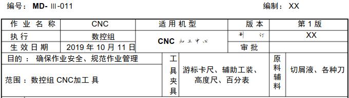 CNC加工中心作業指導書 (圖1)