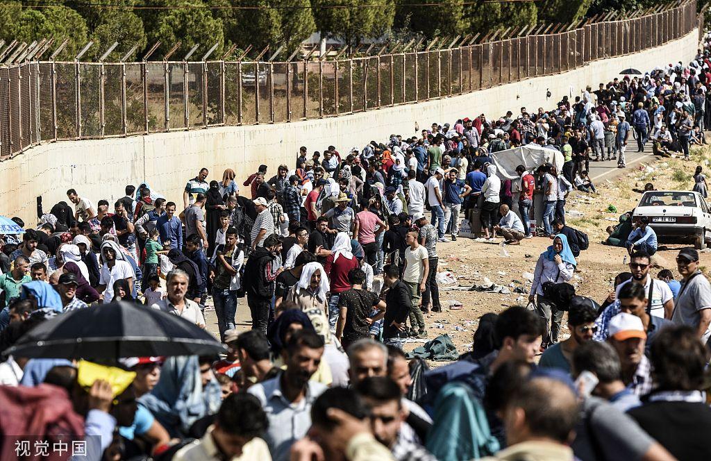 埃尔多安喊话欧盟:再批我们进军叙利亚,就开门放360万难民