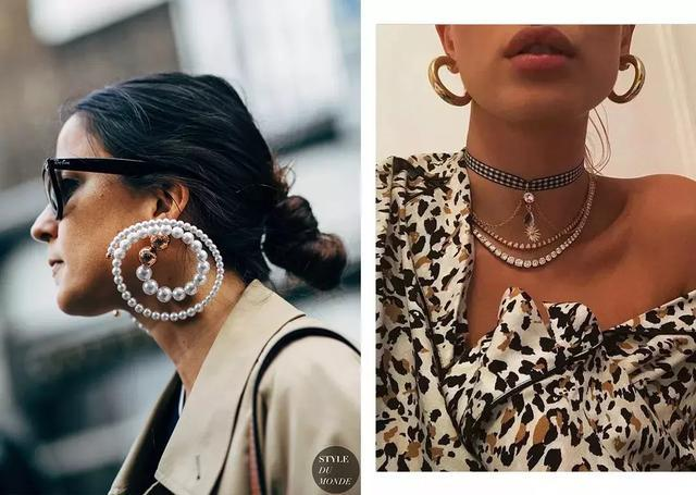 空荡荡的颈部只要戴上TA 立刻就fashion了很多啊~