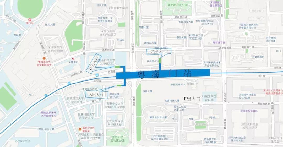 新线速速速速速报 9号线二期部分车站出入口公布,哪个离你最近
