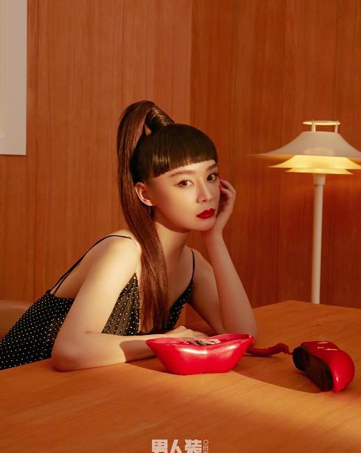 """有一种""""整容""""叫袁姗姗齐刘海,本以为会失望,结果美到犯规了"""