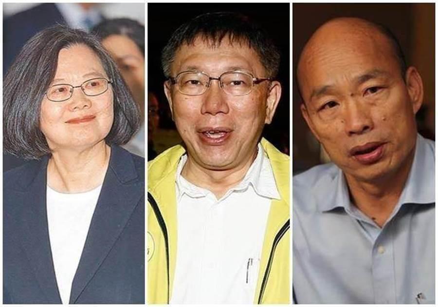 这个地方街头民调:若他参选,韩国瑜辗压蔡英文