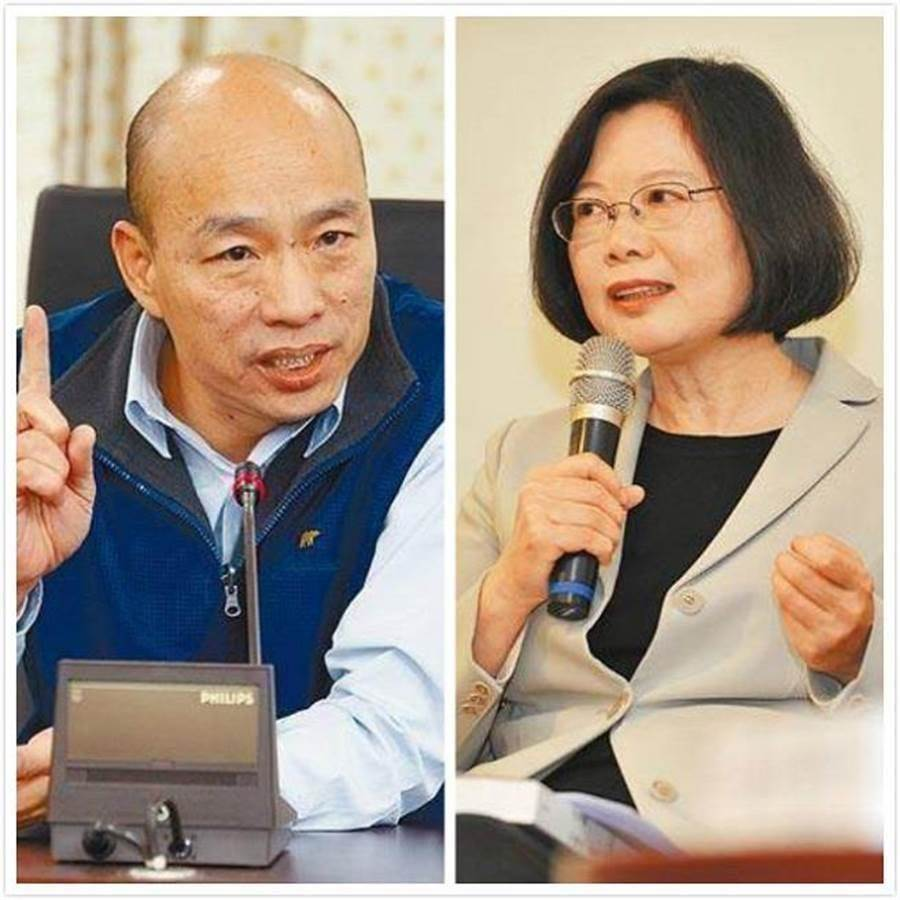 他做的百份街头民调反映4个现象 逾9成显示韩国瑜赢过蔡英文