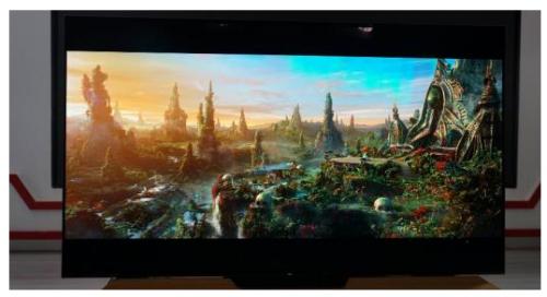 整体设计独树一帜索尼A8F4KOLED智能电视解读