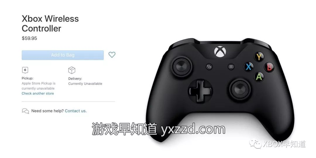 苹果商店正式销售Xbox手柄进一步推动Arcade订阅服务