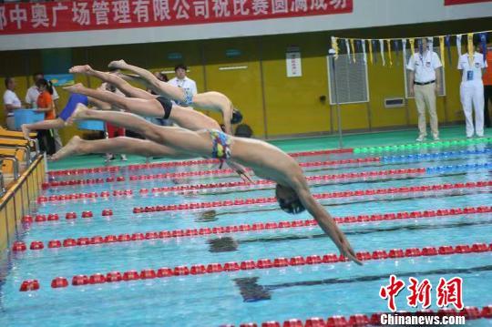 2019全國體校U系列游泳錦標賽成都開賽_比賽