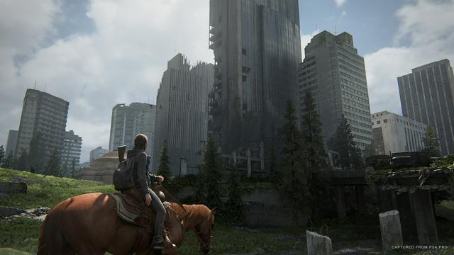 《最后的生还者2》达PS4机能极限艾莉操控感极佳_战斗