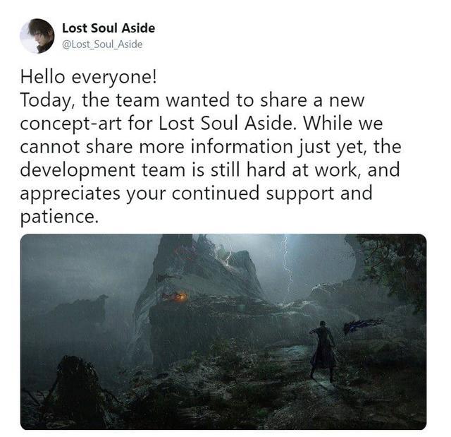 国产ARPG《失落之魂》分享新概念图未来登陆PS4
