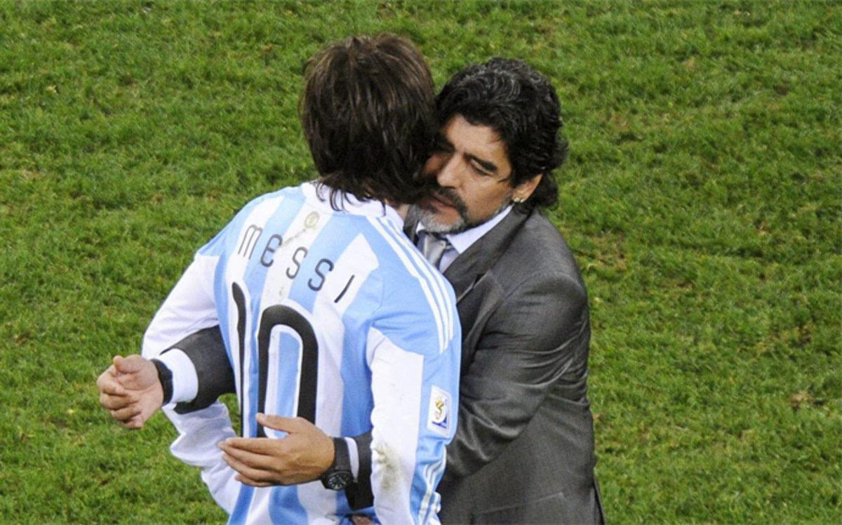 <b>超半数阿根廷球迷认为,梅西需要世界杯冠军,才能与马拉多纳持平</b>