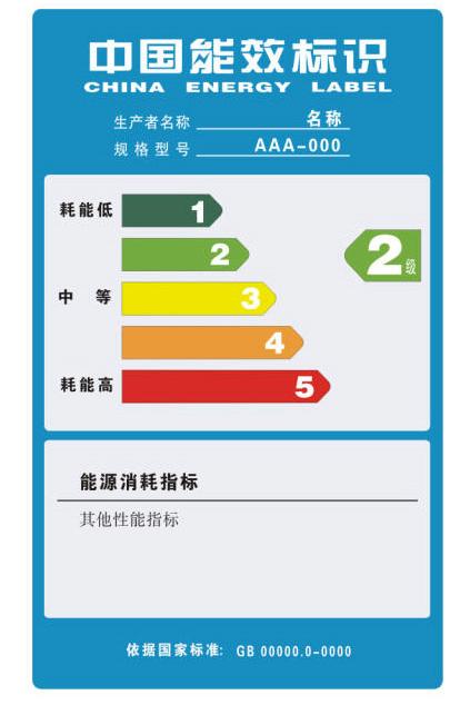 家用空调能效标识认证