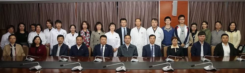 中国医科大学闻德亮校长带队到我院调研指导工作