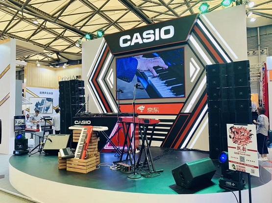 京东超市乐器&卡西欧&上海国际乐器展,新品首发引关注