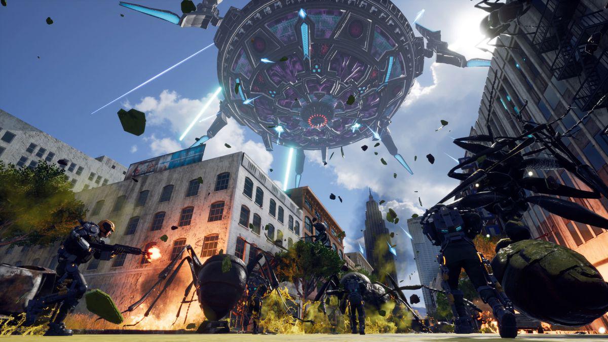 《地球防卫军铁雨》公开发售日期下周登陆STEAM平台