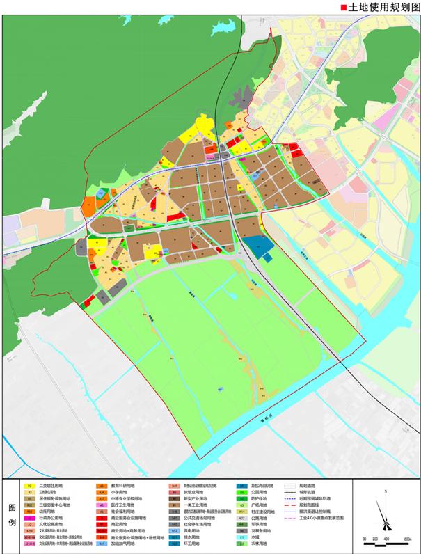 斗门新青科技工业园片区规划来了!未来将配建4所中小学!