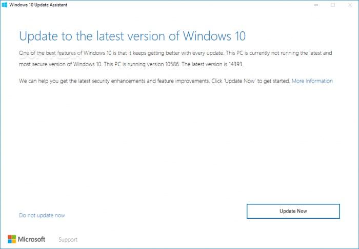 微软Windows 10更新助手存漏洞:黑客可执行系统级权限代码