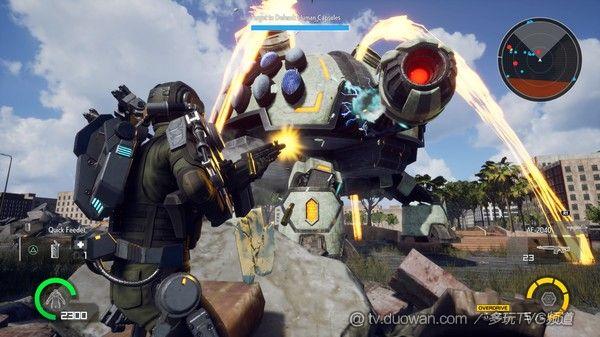 《地球防衛軍鐵雨》將于10月15日登陸Steam平臺