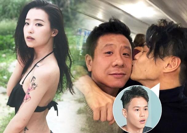 传夏雨儿子与ViuTV女神谭凯伦新恋
