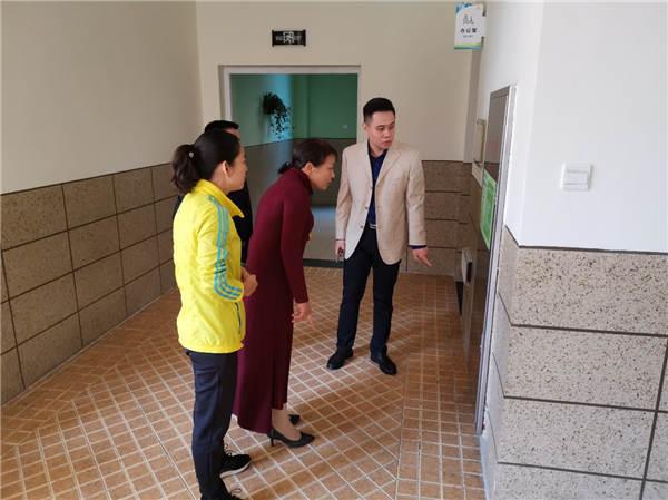合肥市南门小学海恒分校迎接2019秋季校园安全工作督查