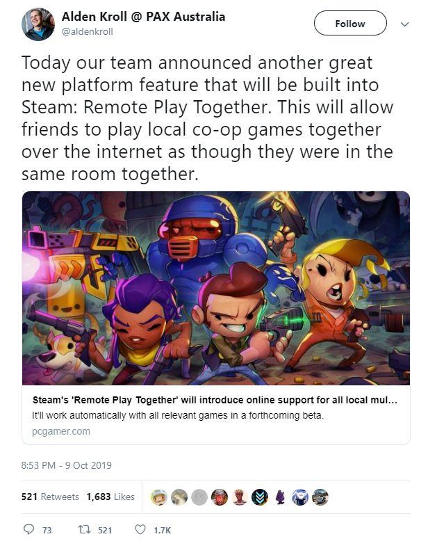 Steam将推出远程本地联机功能,不买游戏也能和好友一起玩_玩家