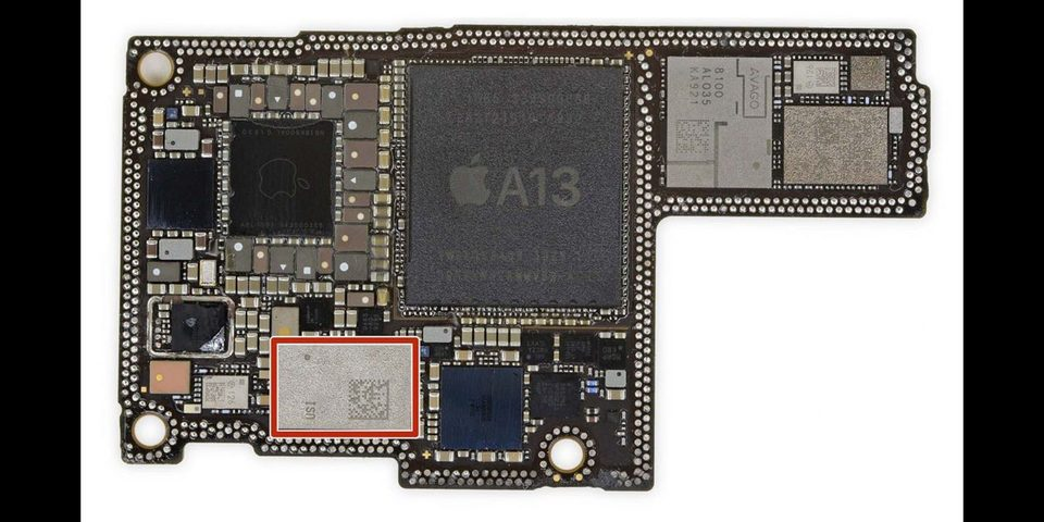 拆解证实iPhone 11的U1芯片为苹果自研