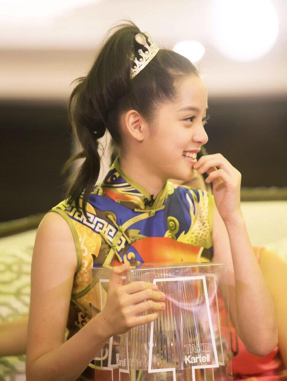 原创 欧阳娜娜旗袍造型被说没有韵味,她才十九岁而已啊插图(1)