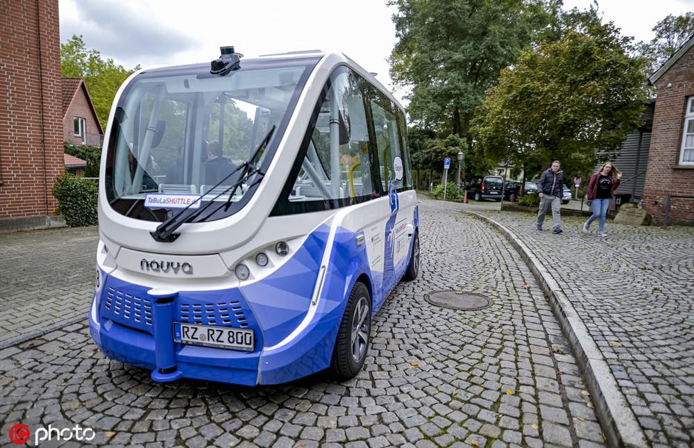 德国又一小镇开始运行无人驾驶公交车_德国新闻_德国中文网