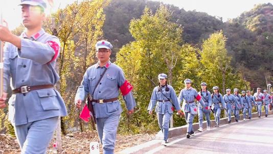 河南卢氏五里川镇:追寻红色足迹践行主题教育