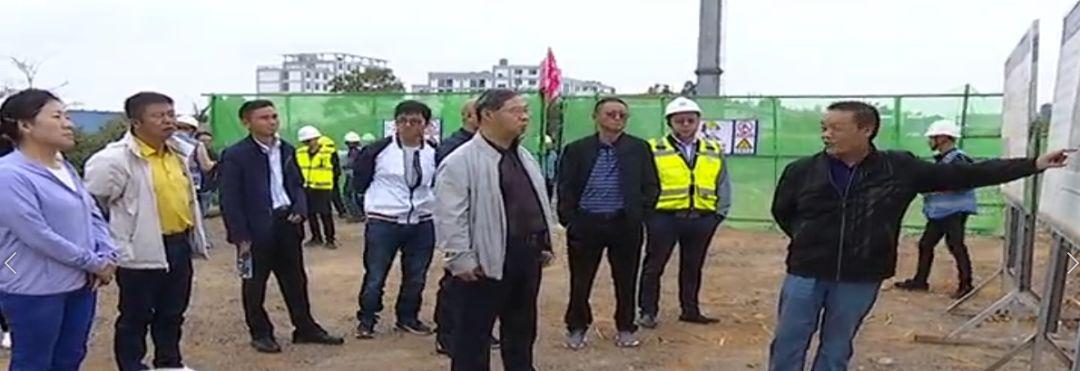 市政协视察昆安一体化融城发展交通路网建设