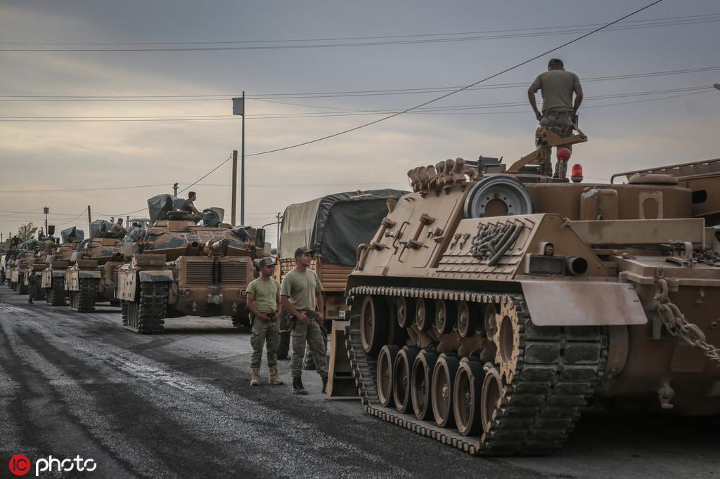 德、法同日暫停對土耳其軍售,歐盟将讨論全面禁運軍火