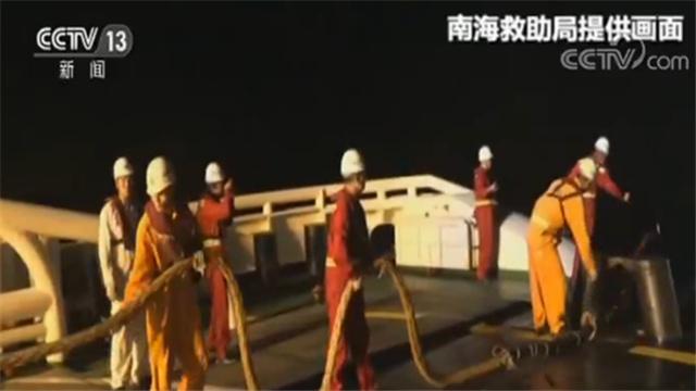 12名渔民成功获救!广东汕尾外海海域一渔船失去动力