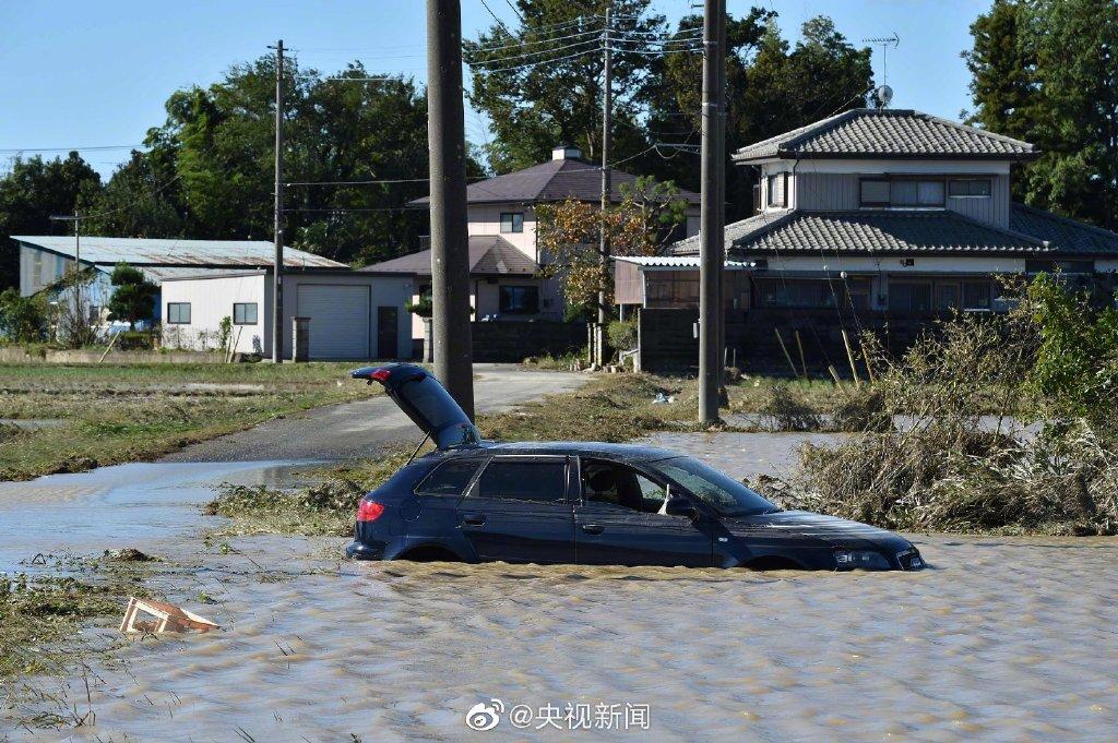 台风海贝思遇难人数上升:19人死亡,多地居民区被淹