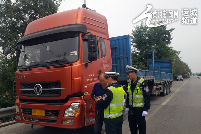 为装卸货物方便卸掉货车栅栏交警:违法