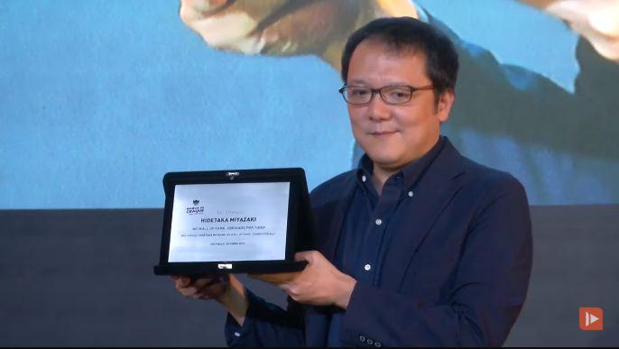 """宫崎英高拿了个终身成就奖,还表示自己无权决定""""血源""""的续作_游戏"""