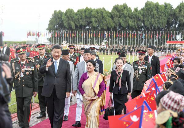 外媒:尼泊尔最高规格迎接习近平到访盼与中国进一步开展合作