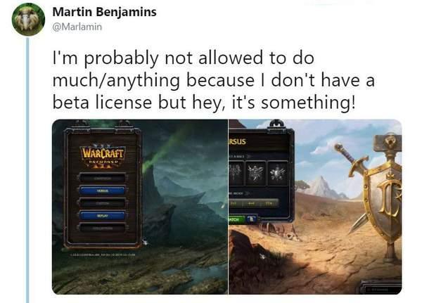 《魔兽争霸3重制版》Beta截图曝光仅开放人族和兽族?_Martin