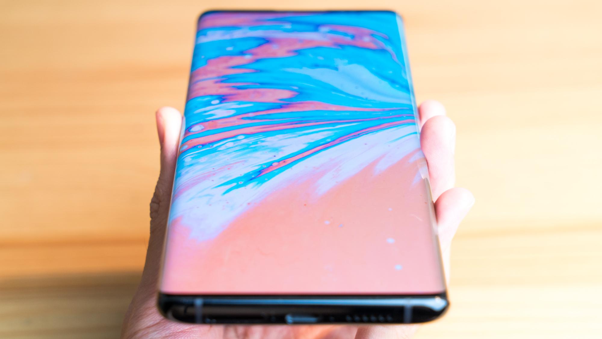 「瀑布屏」手机到底好不好用?