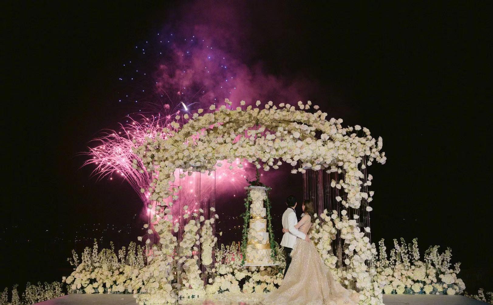 文咏珊婚礼,郭碧婷婚礼,安以轩婚礼,唯郭晶晶婚礼才叫世纪婚礼