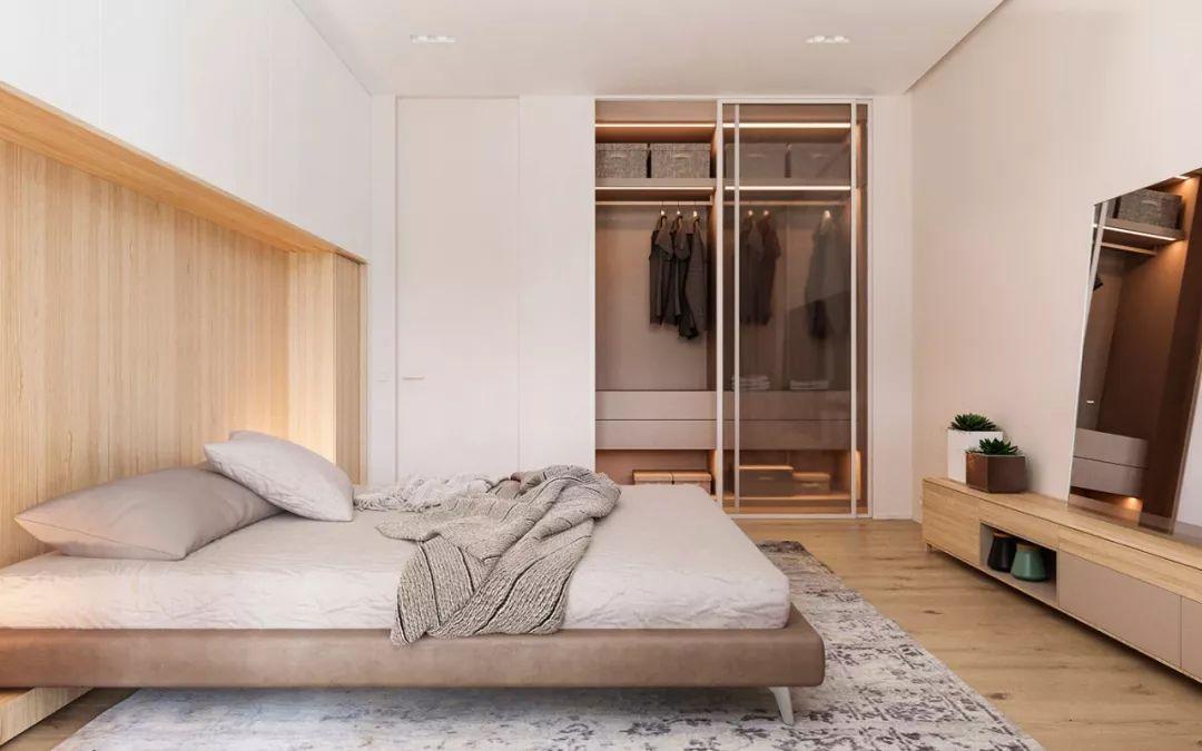 卧室衣柜墙柜设计图