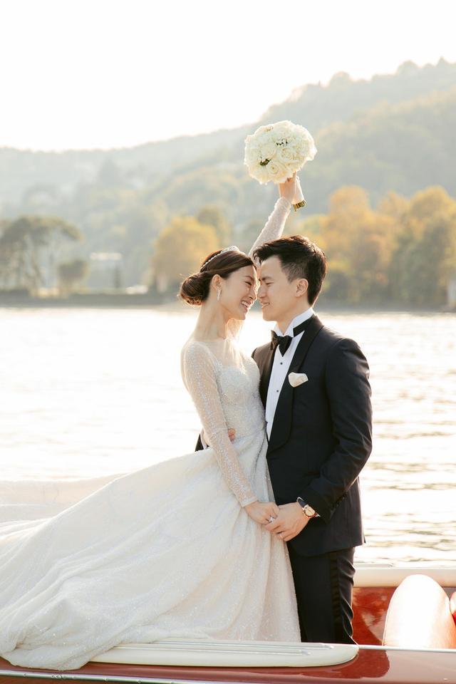 文詠珊古堡大婚嫁入豪門,和Angelababy相殺多年,她是最終贏家?