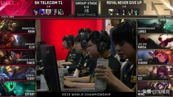 LOL-S9小组赛:Faker无解卡牌令人窒息,RNG痛失好局负于SKT